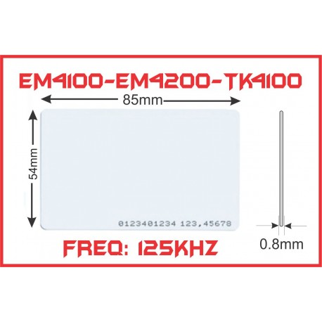 EM 125Khz 0.8 (Tipis) Read Only