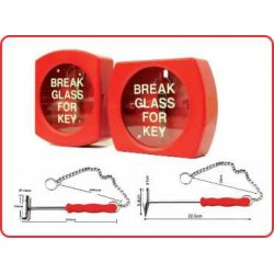 EMERGENCY BREAK GLASS KEY BOX AR803