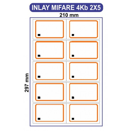 Bahan Cetak Mifare 4kb (INLAY MIFARE 4kb S70)